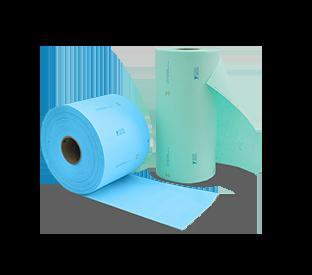 Bobinas de papel crepado precortadas PMG®