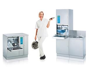 Lavadora automática de cómodos